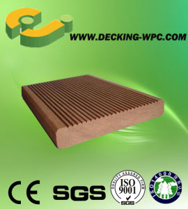 Solid WPC Decking Floor with CE pictures & photos