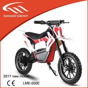500W Kids Electric Motorcycle for Sale Electric Dirt Bike Lme-500e pictures & photos