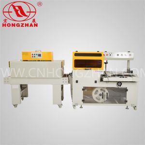 L Sealer Shrink Tunnel Packager Machine for Yoghurt Cup pictures & photos