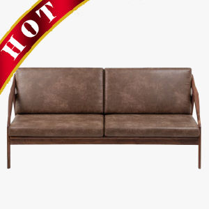 Modern Walnut Oak Beech Wooden Hotel Custom Living Room Sofa pictures & photos