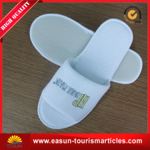 Wholesale Airline Nonwoven Disposable Slippers for Adults pictures & photos