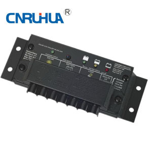 OEM Waterproof 10A 12V Solar Controller with LVD pictures & photos