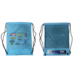 Promotional Nylon Material Drawstring Bag for Packing pictures & photos