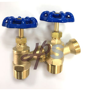 NSF, CSA Approved Brass Angle Bolier Drain Valve with EPDM Gasket pictures & photos