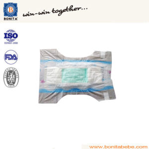 Ultra Thin Cheap Disposable Baby Diaper with PP Tape pictures & photos