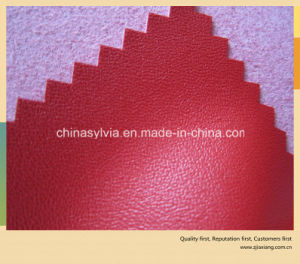 PU Leather Microfiber on Steam Perforated Shoes Lining Leather pictures & photos