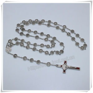 9mm Metal Beads Rosary/High Quanlity Religious Item/Catholic Rosaries (IO-cr400) pictures & photos