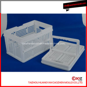 Plastic Injection Turn Over Box/Folding Crate Mould