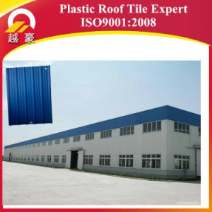 10 Years Life Warranty PVC High Wave Roofing Sheet pictures & photos