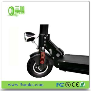 Original E Scooter Electric 12.5kg Weight Steering-Wheel 2 Two Wheel Hoverboard Skateboard pictures & photos