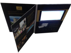 5inch LCD Screen Video Company Catalogue pictures & photos