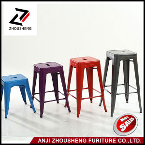 "18"" Metal Backless Barstool in Mint Finish Fully Assembled 4 Pack Zs-T-618 pictures & photos"