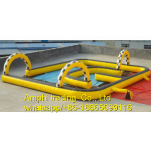 Custom Made Inflatable Go Karts Race Track for Sale pictures & photos