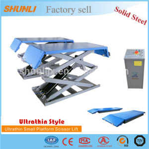 Ultrathin Scissor Design Portable Car Lift pictures & photos