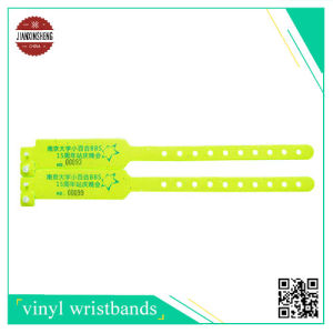 W Shape Vinyl Wristband with RFID pictures & photos