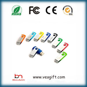 Best Seller Plastic Swivel USB Flash Drive Logo Gadget Pendrive pictures & photos