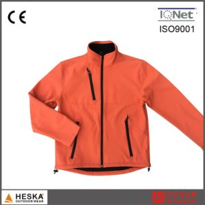 Bonded TPU 3 Layer Fleece Lined Softshell Jacket pictures & photos