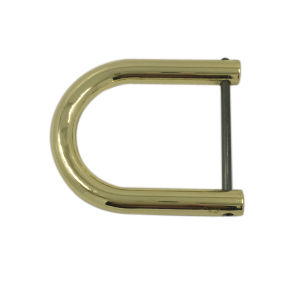 Fashion Gold Large U Shaped Metal Bag Buckle pictures & photos