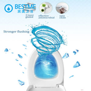 Hot Sale Small Bathroom Furniture Water Closed Toilet pictures & photos