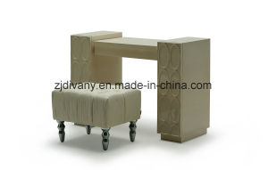 Home Furniture Fabric Seat Dresser Stool (LS-130) pictures & photos