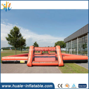 2016 Crazy Interesting Inflatable Soap Soccer Field for Sale pictures & photos