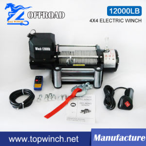 SUV 4X4 off-Road Electric Winch with Ce (12000lbs-3) pictures & photos