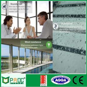 Double Glazing Aluminum Vertical Sliding Window pictures & photos