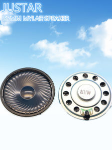 57mm 4-32ohm 0.25-2W Mylar Speaker with RoHS pictures & photos
