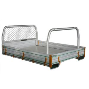 High Quality Ute Tray Body with Headboard Tube pictures & photos