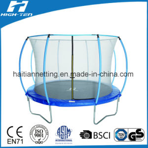 Lantern Shaped 14FT Trampoline with Safety Net for Kids pictures & photos