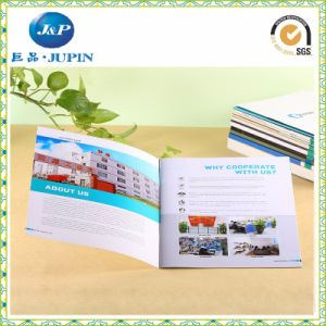 Customized Printed Brochure Binding Paper Leaflet Sheet (MP-016) pictures & photos