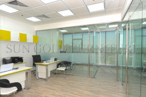 Modern Aluminium Fixing Internal Office Glass Partiton Wall (SZ-WS688) pictures & photos