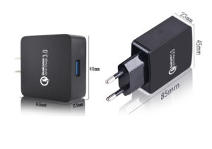 Hot Selling Travel Charger Adapter USB Charger QC3.0 Quick Charger pictures & photos