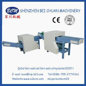 Quilted Fabric Waste Cutting Machine with High quality pictures & photos