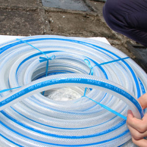 PVC Braided Reinforced Fiber Hose Water Hose Ks-698SSG pictures & photos