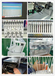 6 Heads Embroidery Machine Computerized 9 Needle T-Shirt and Cap Embroidery Machine Wy906c pictures & photos