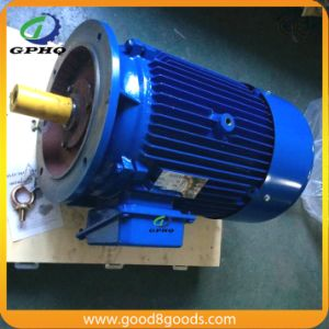 Y 380V AC Three Phase Electric Motor 4kw 5.5HP pictures & photos
