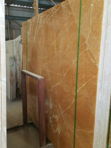 New Polished Factory Price Marble Orange Onyx Yellow Marble pictures & photos