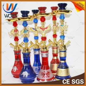 Glass Water Pipe Zinc Alloy Hookah Set Shisha Pipe pictures & photos