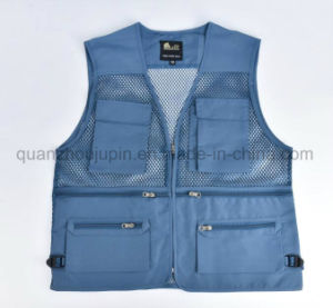 OEM Logo Cotton Photographer Hunting Shoot Fishing Vest pictures & photos