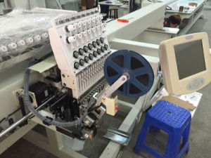 Wonyo 1500*800mm Single Head Computerized Cap Embroidery Machine Wy1501hl pictures & photos