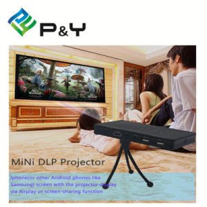2017 High Quality P8 Mobile Phone LED Beamer Mini Projector pictures & photos