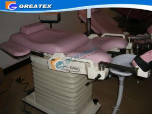 Electric Examination Table/ Gynecology Chair for Women Gyn Bed pictures & photos