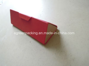 Custom Color PU Triangle Folding Eyeglasses Case (EH44) pictures & photos