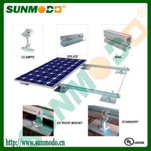 Solar PV Mounting System for Pitch Shingle Roof pictures & photos