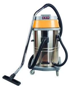Hot Sale 80L Three Motors Wet and Dry Industrial Vacuum Cleaner with Competitive Price pictures & photos