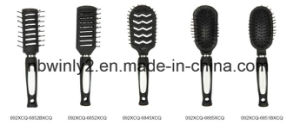 Red Rubber Mini Professional Hairbrush pictures & photos