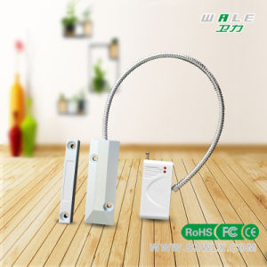 Wireless Security Door Motion Magnetic Sensor+ABS+Aluminum Alloy Material pictures & photos