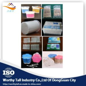 Surgical Cotton Swab with Plastic Case (swab cotton machine) pictures & photos