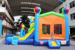 Commercial Design Inflatable Combo Bouncer with Climbing Wall pictures & photos